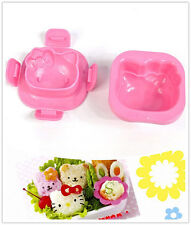 Hello kitty Style Rice ball sushi Rice cake cookie mold cutter kitchen Tool