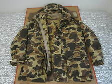 Columbia USA Made Gore-Tex Hunting coat camo WITH INSIDE REMOVABLE JACKET vtg