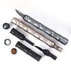 Tactical Pen Magnesium Flint Fire&compass&Whistle&Kinfe Survival EDC Kit NEW
