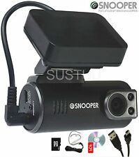 Snooper dvr-1hd Veicolo Auto Dashcam FALSO Incidente Registratore Videocamera + Scheda SD 8gb