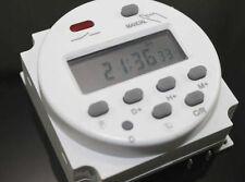 Timer Digitale programmabile  12V 16A  lcd elettronica automazione camper auto
