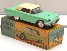Corgi #214 Ford Thunderbird mit Box