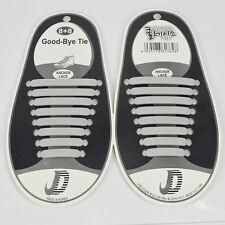 No Tie Shoelaces Rubber Elastic Slip Sneaker Shoe Laces Running Shoelaces laces