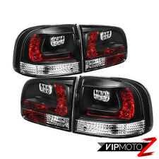 03-07 Volkswagen VW Touareg TDI V6 V8 Black LED SMD Rear Brake Tail Lights