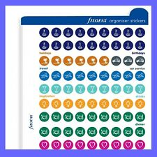 Filofax Multifit (Personal, A5, A4) Organiser Stickers Refill 130137