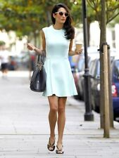 TED BAKER NISTEE RARE CELEBRITY MINT GREEN SKATER STYLE DRESS SIZE 4 (14)