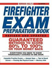 Norman Hall's Firefighter Exam Preparation Book by Norman Hall (2004, Paperback)