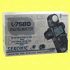 Genuine Sekonic L-758D DigitalMaster Light Meter Digital Flash Master L758D