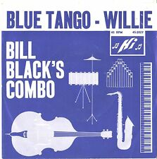 BILL BLACK'S COMBO--PICTURE SLEEVE + 45--(BLUE TANGO)---PS--PIC--SLV