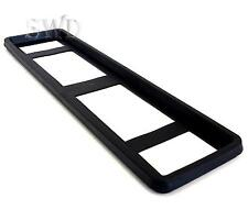 Rubber Car Custom Licence Number Plate Protector Holder Frame Surround Trim NEW