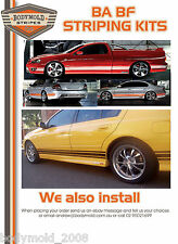 BA & BF GT Falcon XR6 XR8 Striping Kits.This includes Installation at Kingsgrove