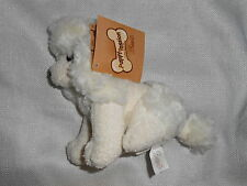"""Bestever Plush Nwt Tan cream ivory poodle dog puppy passion 7"""""""