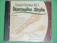 Country Christmas~#5 ~Daywind~Karaoke Style ~ Glory to God in the Highest ~ CD+G