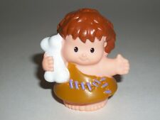 Fisher Price Little People Cave Man Boy with Bone