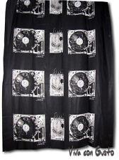 Stoff Diesel schwarz weiß Soundsystem 188x250  NEU Hst Zucchi
