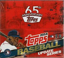 2016 Topps UPDATE Series Baseball MLB Trading Cards New 24pk Display Box