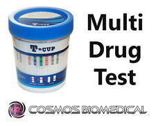 Multi Drug Test  - 10 in 1 Drug Test Cup (Cocaine, Cannabis, Heroin, etc.)