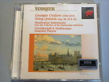 "GEORGES ONSLOW ""String quintets op.38,39,40"" L'Archibudelli cd"
