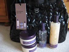 NEW FCUK OVERNIGHT BLACK BAG & BODY WASH BUTTER SPRAY POLISH SCENTED SIGNATURE
