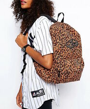 Vans women's Leopard Print School Backpack bag
