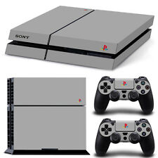 PS4 Skin 20 Years PS1 Designfolie Sticker Playstation 4 Vinyl Schutzfolie - Matt