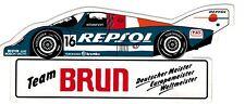 Team Brun Porsche REPSOL Sticker Aufkleber