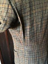 RARE Brooks Brothers 43R 1930's style ACTION BELTED BACK TWEED Shooting Jacket