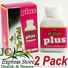 2 PACK MR. FIELD PLUS PERFECT REMEDY FOR CONSTIPATION AND OVERWEIGHT 100% ORIG.