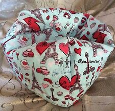 ��Paris French Love��Made To Fit American Girl Doll,Bean Bag Chair, Furniture