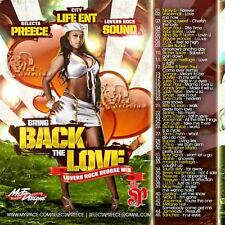 BRING BACK THE LOVE  REGGAE LOVERS ROCK MIX CD