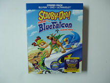 Scooby-Doo!: Mask of the Blue Falcon (Blu-ray/DVD, 2013, 2-Disc) NEW w/slipcover