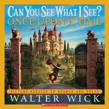 Can You See What I See?: Once Upon a Time: Picture Puzzles to...  (NoDust)