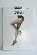 Brand New In Sealed Packaging Wolford TESS Sahara Black Tights Pantyhose XS