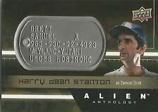 "Alien Anthology - DT-SB Harry Stanton ""Samuel Brett"" Space Marine Dog Tag Card"