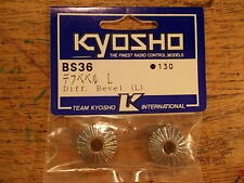 BS-36 Diff Bevel (L) - Kyosho Turbo Burns Inferno ST Landmax GP-20 USA-1 Nitro