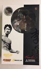BRUCE LEE STORM COLLECTIBLES 1/12 scale statue W/Changeable HEAD #sjan17-118