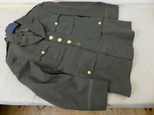#C3 Original US WW2 Officers Service CLASS A UNIFORM JACKET / Ausgehuniform US35