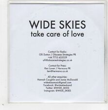 (GE284) Wide Skies, Take Care Of Love - 2015 DJ CD