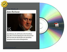 The works of James Buchanan, comprising his speeches Etc 12 Vol Set Books On CD