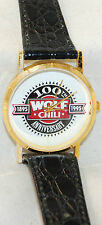RARE 1995 Wolf Brand Chili 100th Anniversary Watch-Mail In Only MINT Working