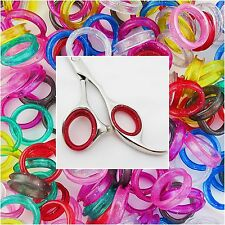 Soft Rubber Finger Thumb Ring Sizing Inserts for Hairdressing Scissors 5 L 5 S
