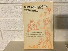 MAX AND MORITZ, WITH MANY MORE MISCHIEF-MAKERS Wilhelm Busch 1962 Dover Cartoon