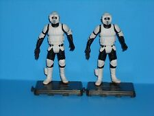 STAR WARS OTC Scout Trooper Lot of 2 Loose 100% Complete FREE SHIPPING!