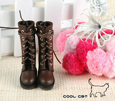 ☆╮Cool Cat╭☆【14-01】Blythe Pullip Doll Boots # Brown