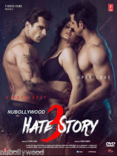 HATE STORY 3 - OFFICIAL BOLLYWOOD DVD - FREE POST