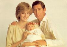 1982 T. R. H. THE PRINCE and PRINCESS DIANA OF WALES and PRINCE WILLIAM OF WALES