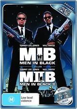 Men In Black / Men In Black II (DVD, 2010, 2-Disc Set) Used MIB