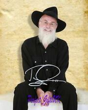 Sir Terry Pratchett Discworld novelist SIGNED AUTOGRAPHED 10X8 REPRO PHOTO PRINT