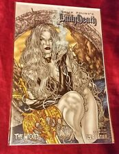 LADY DEATH THE WICKED #1/2 AVATAR COMICS  BRIAN PULIDO VF/NM UNREAD. RARE!!