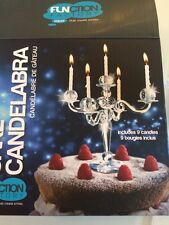 New Bling Candelabra Cake Décor Topper Candle Holder Princess Birthday Wedding